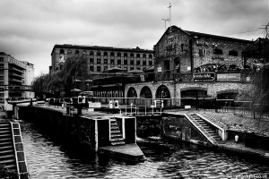 Camden Lock by Adam Wright