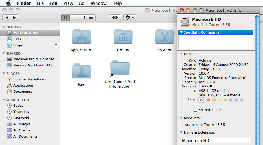 how to clear up space on mac startup disk