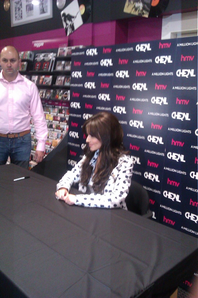 Cheryl Cole at HMV Newcastle album signing